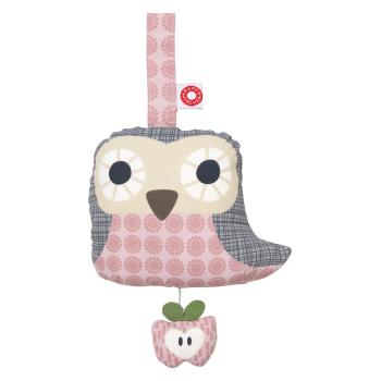 Speldosa uggla Else Pink Owl Frank&Fischer