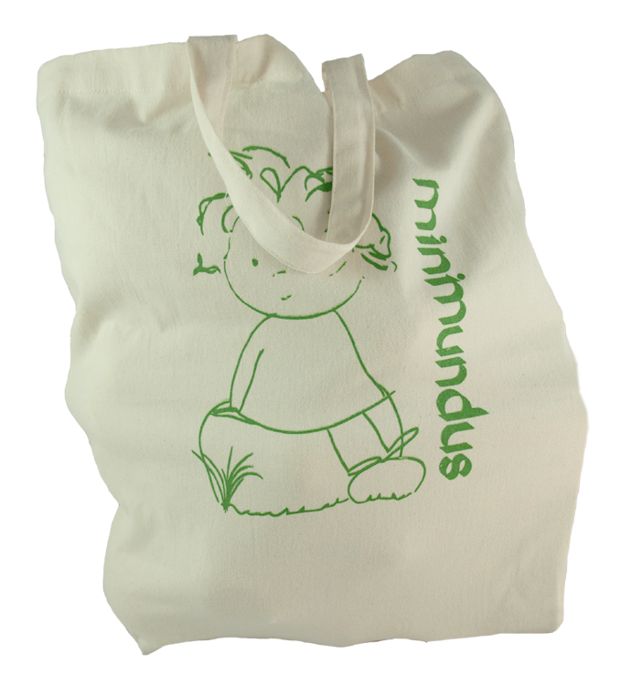 Tygkasse tote bag med tryck 100% ekologisk bomull