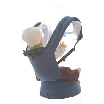 Patapum baby bärsele upp till 14 kg blå