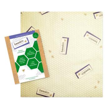Beeskin L det naturliga, återanvändbara och hållbara alternativet till plastfolie.