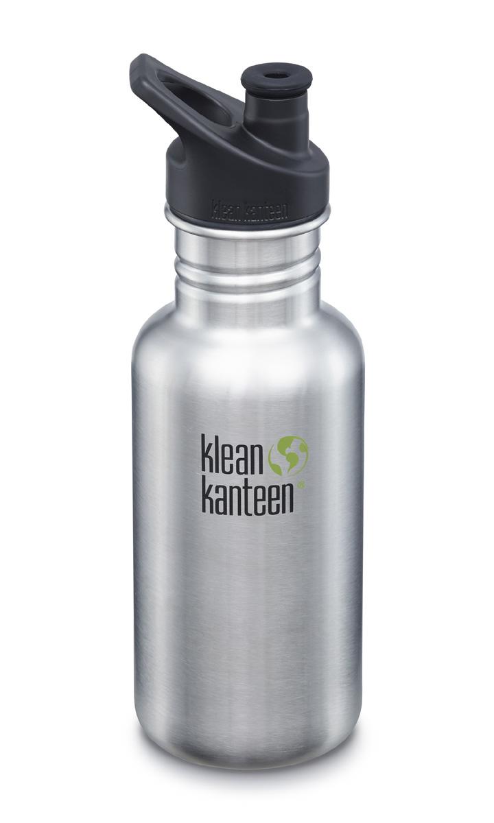 Vattenflaska 532 ml Classic Klean Kanteen Brushed Stainless