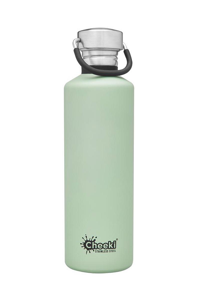 Cheeki vattenflaska rostfritt stål 750 ml pistasch grön