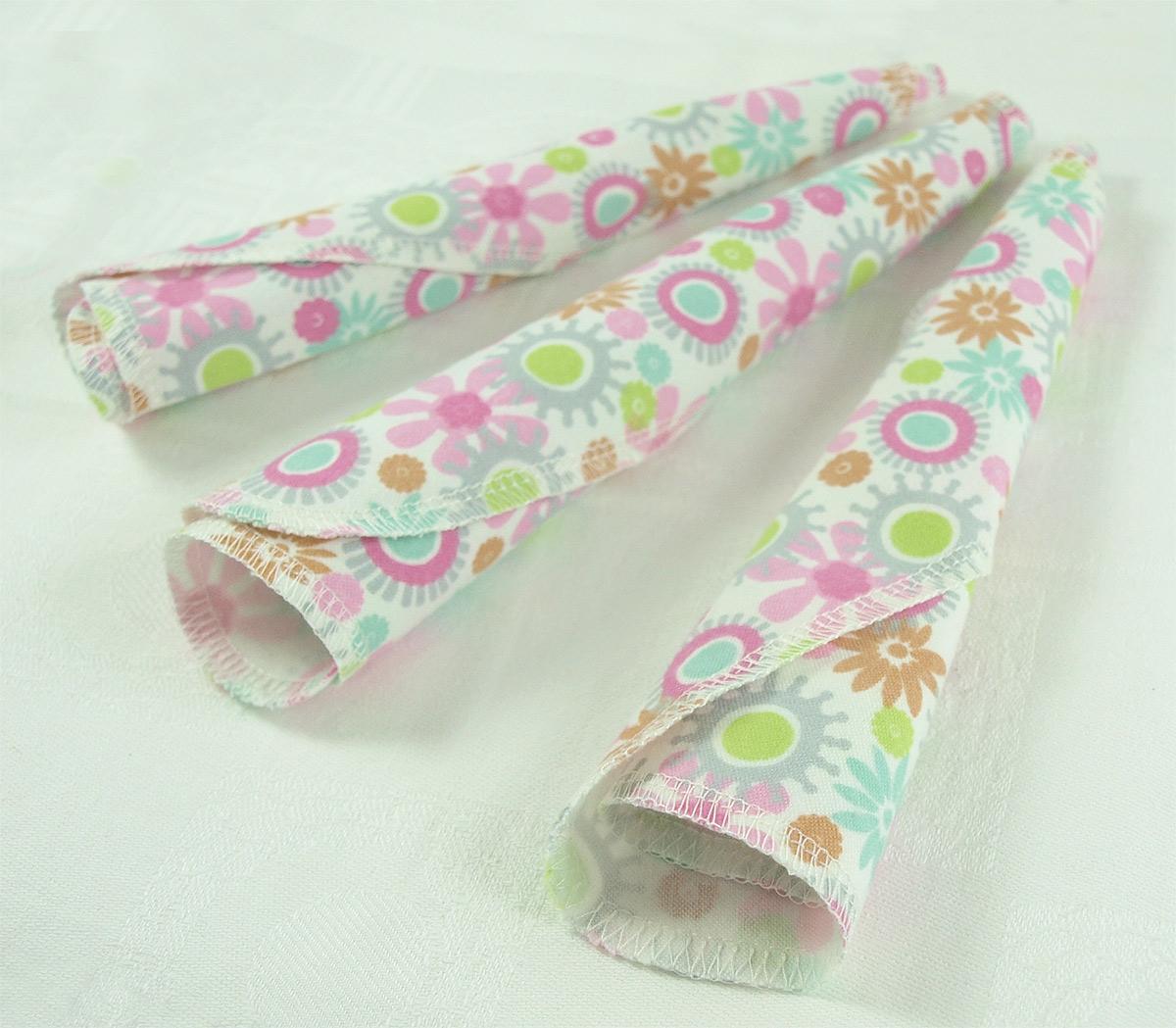 ImseVimse tvättlappar ekoflanell flower 12 pack