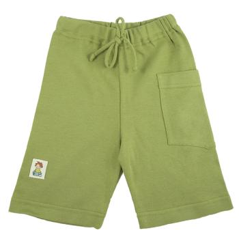 Tim&Teja shorts 100% ekologisk bomull ekologiskt färgad grön