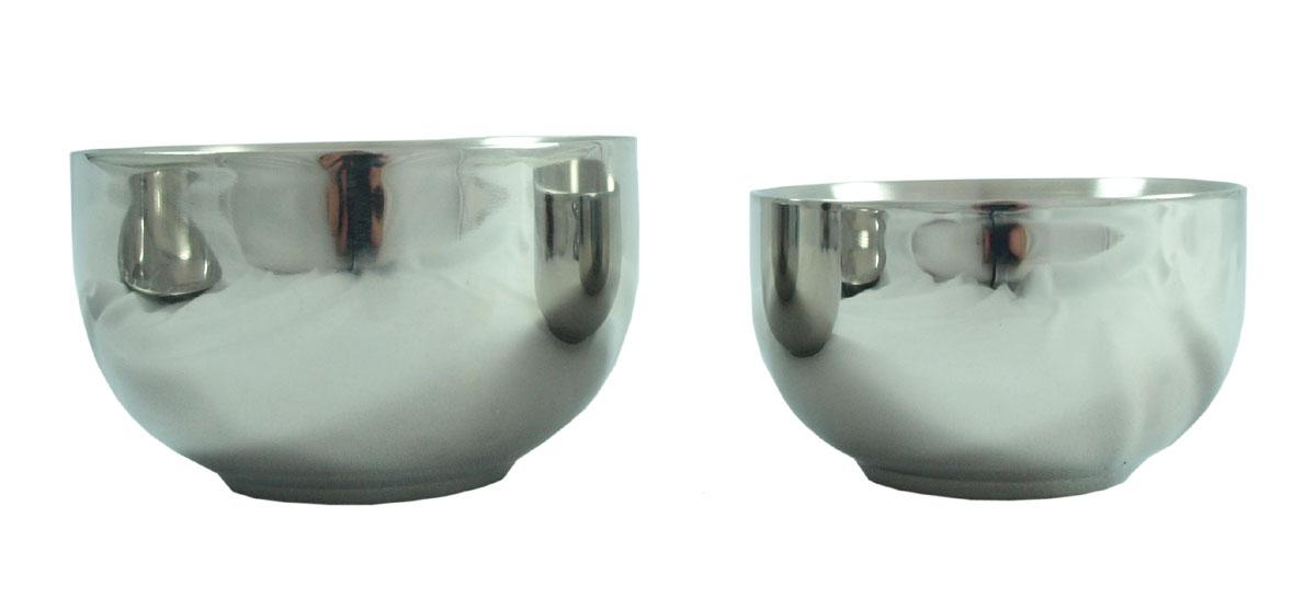 Isolerad skål av rostfritt stål hållbart och giftfritt