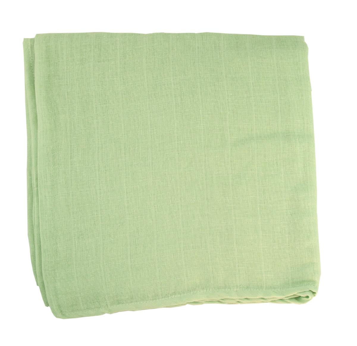 Minimundus muslinfilt 100% ekologisk bomull 120x120 cm lindblomsgrön
