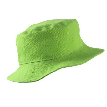 Minimundus solhatt med spänne 100% ekologisk bomull grön