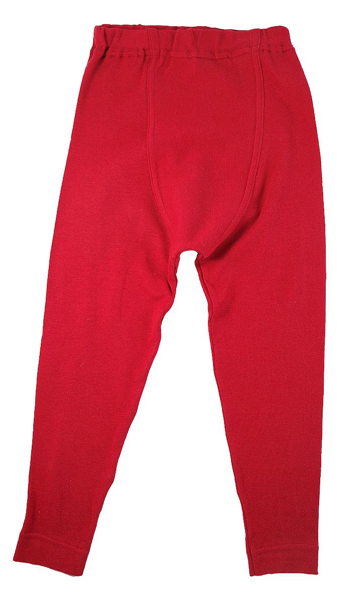 Minimundus leggings röd ekologiskt färgad ekobomull