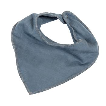 Janus LightWool baby dregglis neckscarf 100% merinoull blå