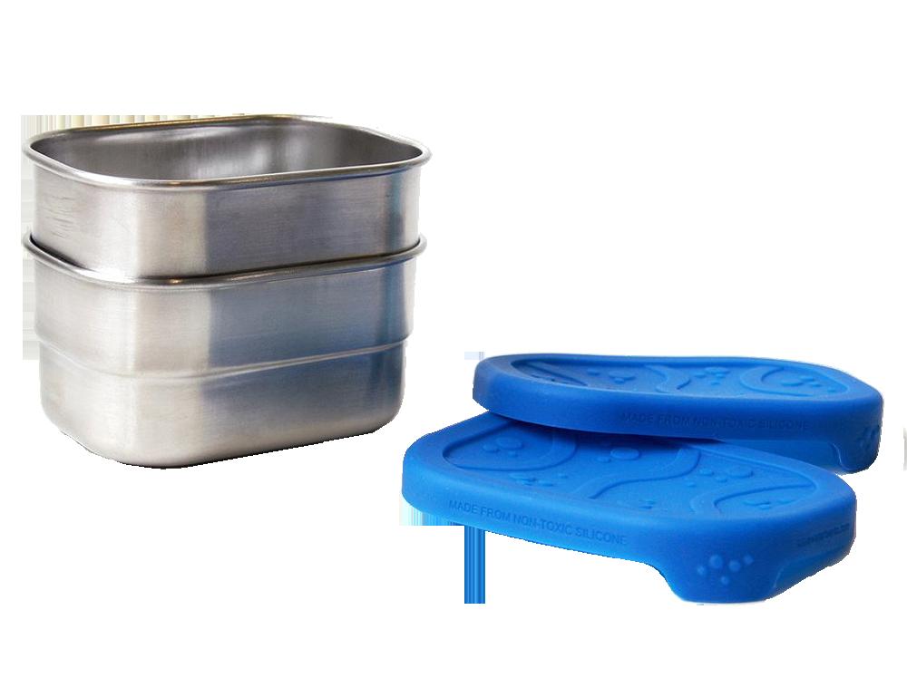ECOLunchbox splashbox rostfritt stål 800ml