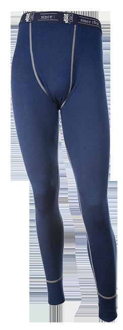 Janus DesignWool långkalsong herr 100% merinoull marinblå