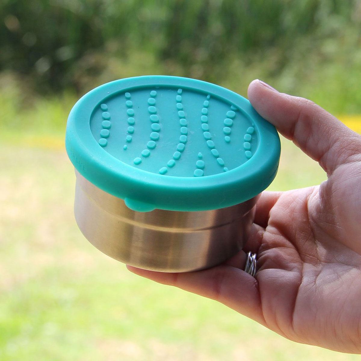 Seal Cup Solo liten matlåda tättslutande silikonlock EcoLunchbox 230 ml