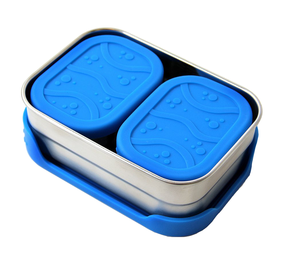 ECOLunchbox splashbox och Splash Pod rostfritt stål 800 och 230 ml
