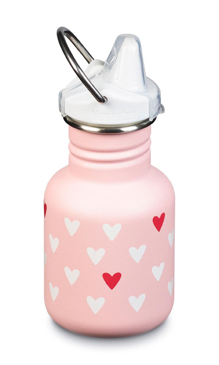 Pipmugg vattenflaska 355 ml Classic Klean Kanteen Millenial Hearts