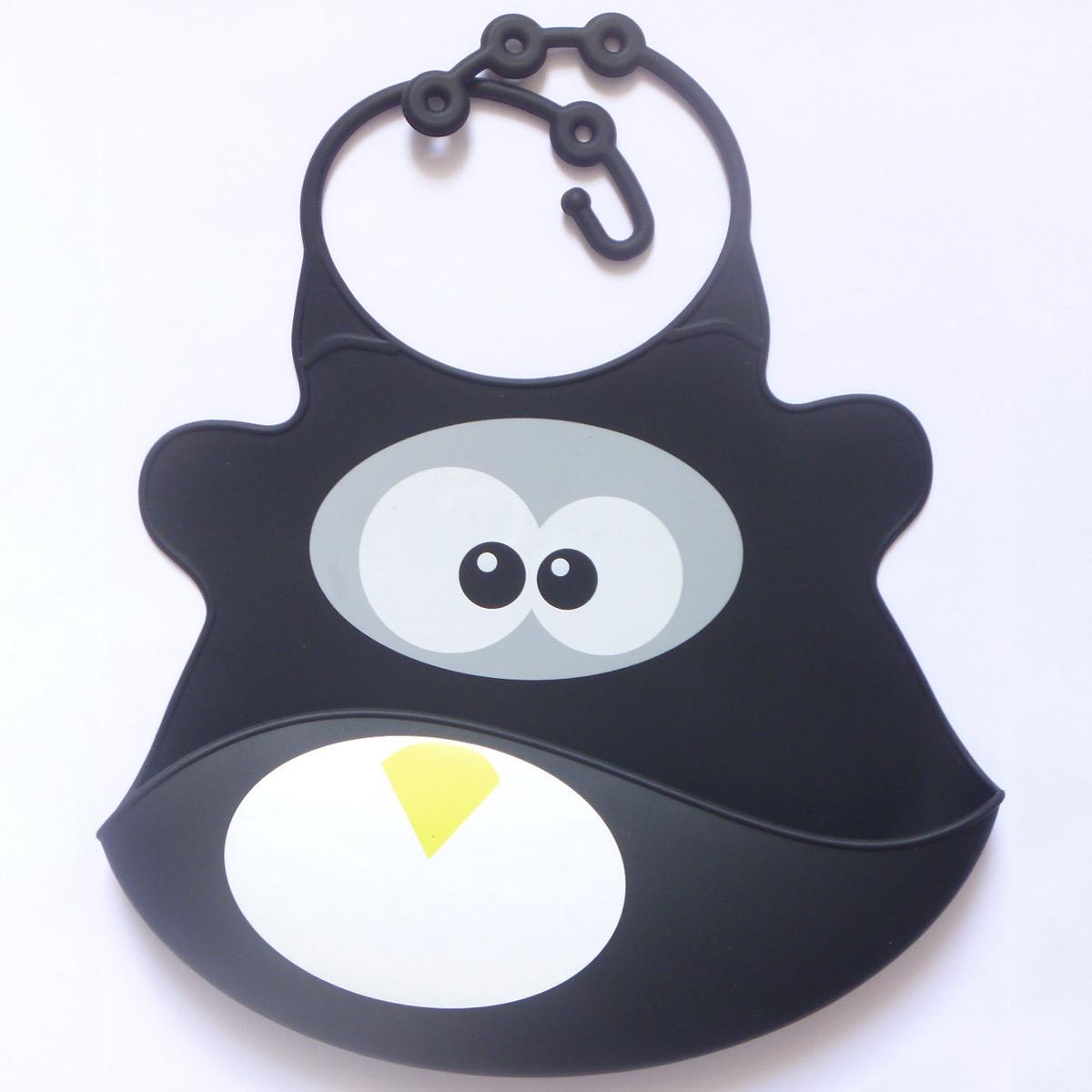 Haklapp av livsmedelsgodkänd silikon Pingvin