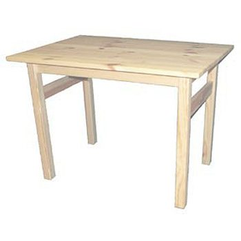 Barnbord av svensk furu obehandlat 64x44x46,5 cm