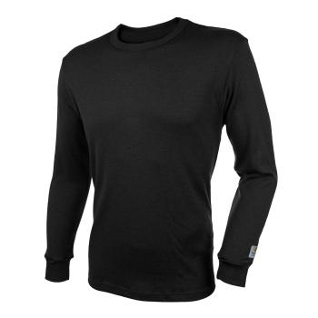 Janus BlackWool Extra herr tröja 100% merinoull svart