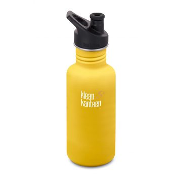 Vattenflaska 532 ml Lemon Curry Klean Kanteen Classic