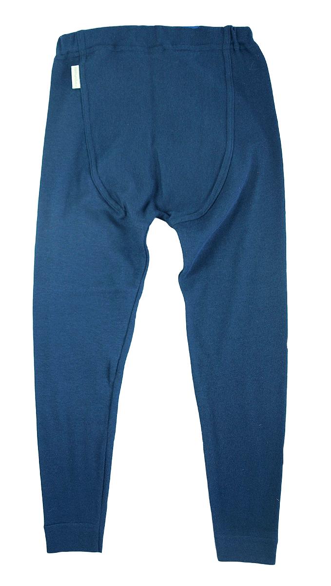 Minimundus leggings marinblå ekologiskt färgad ekobomull