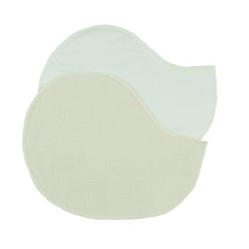 Minimundus bröstvärmare av 100% ekologisk ull och silke formade 16x22cm