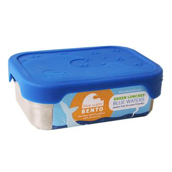ECOLunchbox matlåda med tättslutande lock av livsmedelsgodkänd silikon