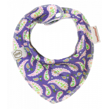 ImseVimse dregelscarf dregglis purple paisley