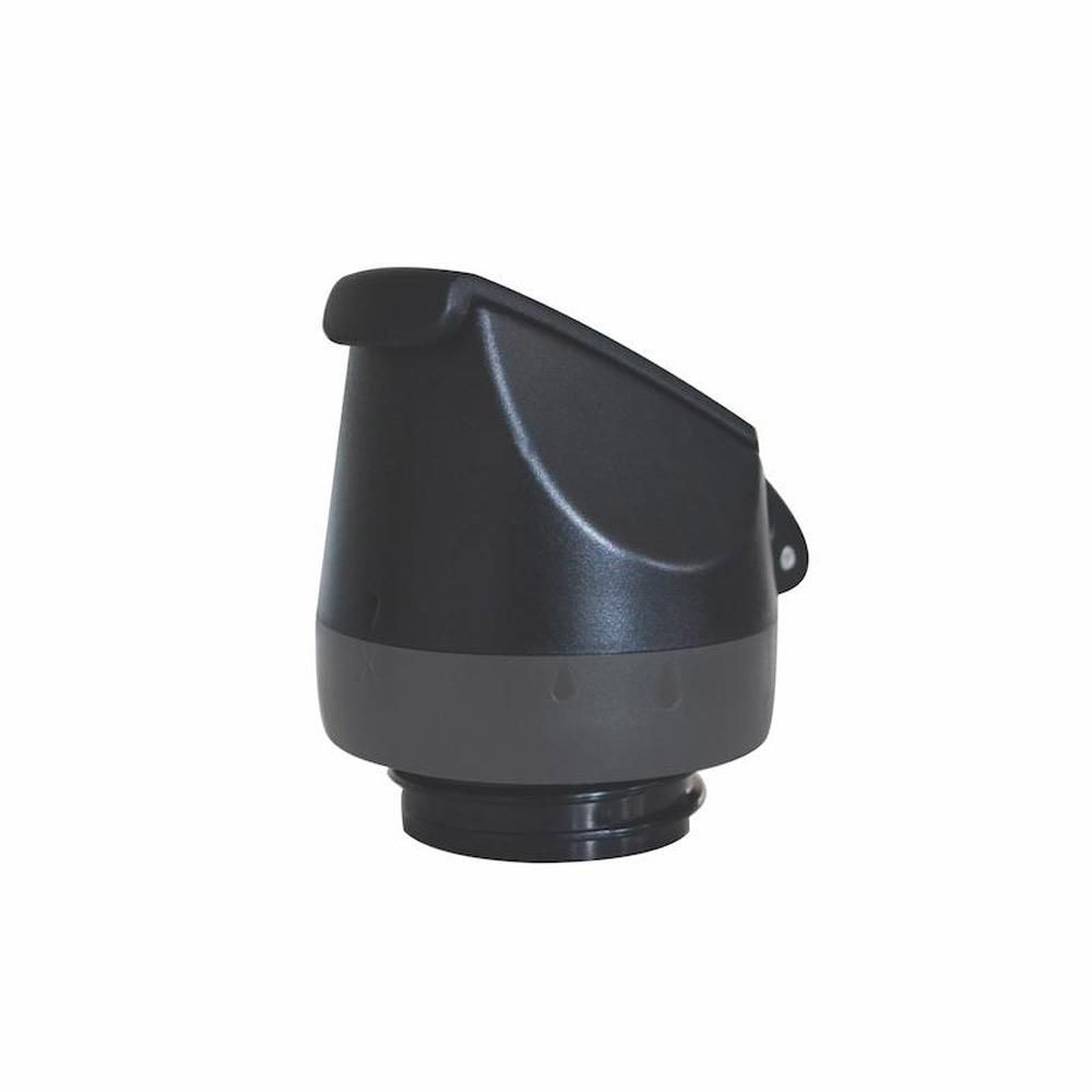 Lock till Cheeki vattenflaska rostfritt stål ställbart variabelt flöde svart