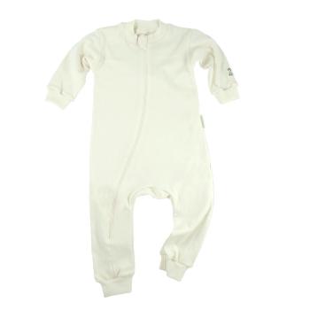 Minimundus pyjamas av 100% ekologisk bomull naturvit
