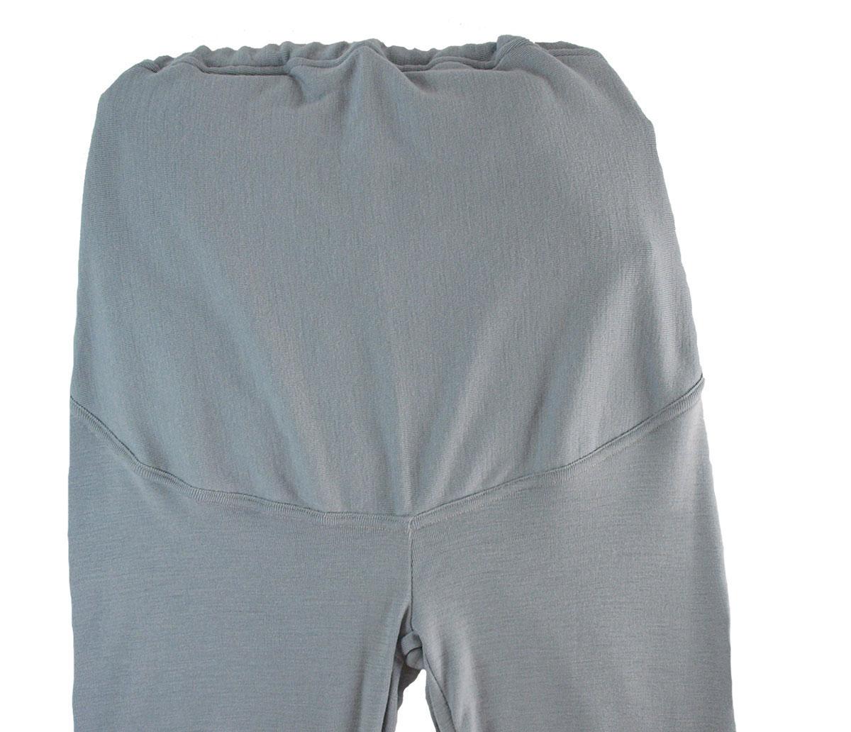 Minimundus gravidlångkalsonger 100% merinoull BlueSign grå