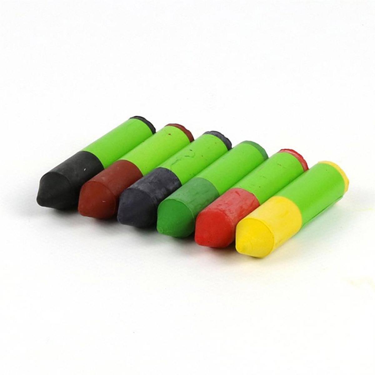 Ekologiska och giftfria bivaxkritor gnome 6 färger ÖkoNorm