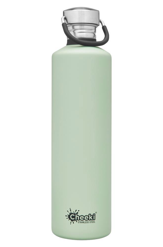 Vattenflaska Cheeki rostfritt stål 1 liter pistasch