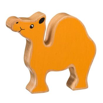 Kamel av gummiträ handgjord FairTrade Lanka Kade