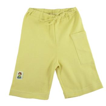 Tim&Teja shorts 100% ekologisk bomull ekologiskt färgad gul
