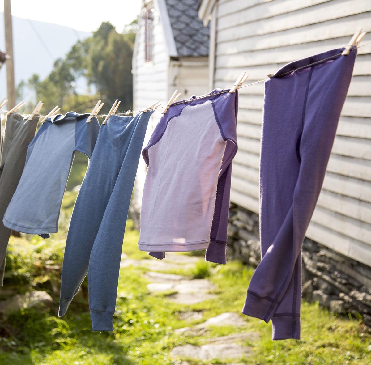 Janus Riddar Slitstark barnkläder av 100% merinoull