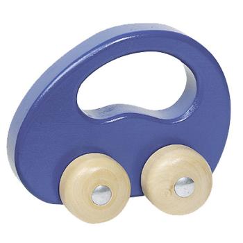 Leksaksbil av trä GOKI blå