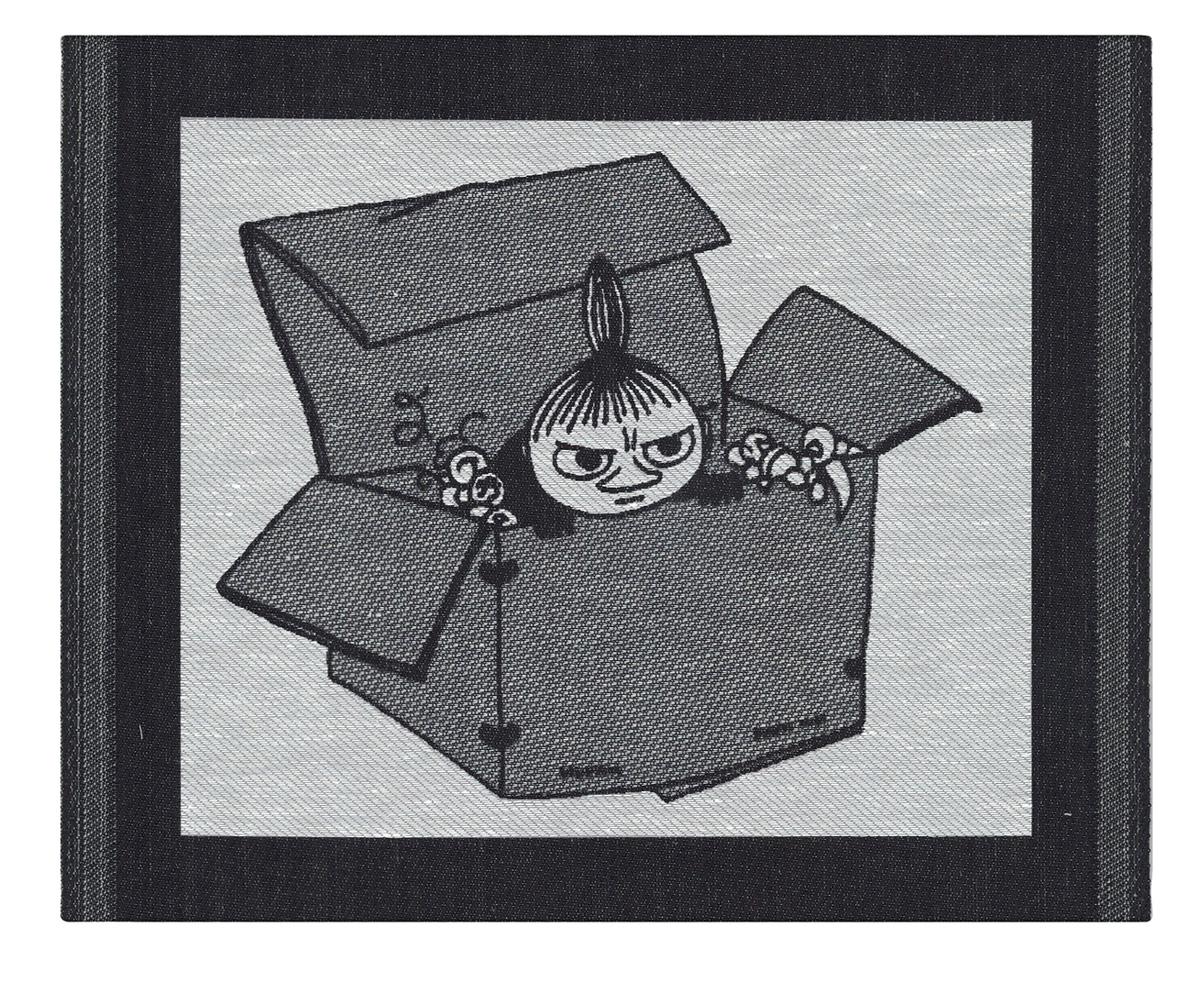 Diskduk Lilla My Box ekologisk bomull och lin inneväveriet Ekelund
