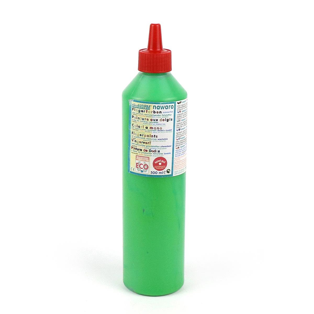 Ekologisk fingerfärg 500 ml grön ÖkoNorm