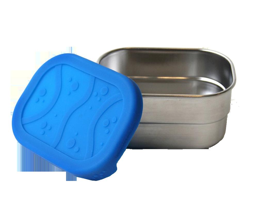 Splash pod läckagesäker liten matlåda av rostfritt stål giftfritt och hållbart 230 ml