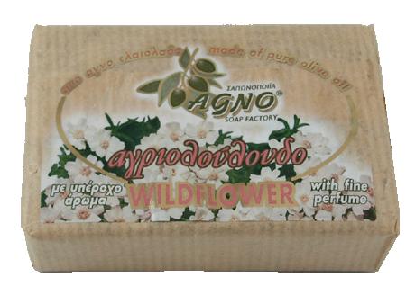 14001 Olivtvål 100g Wildflower från Agno