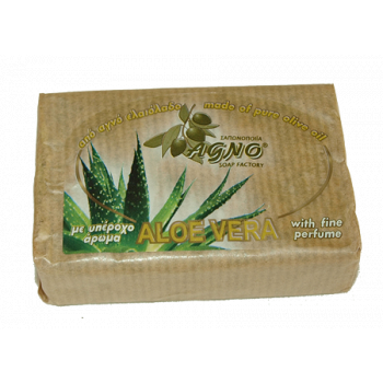Agno olivtvål Aloe Vera100g