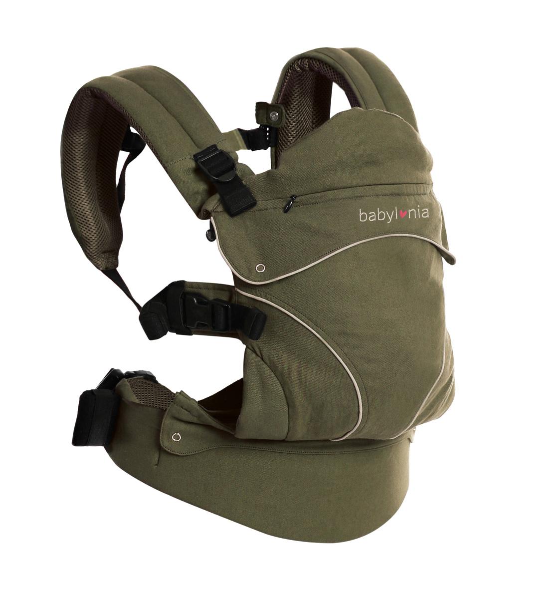 Ekologisk bärsele Flexia mörkgrön Babylonia