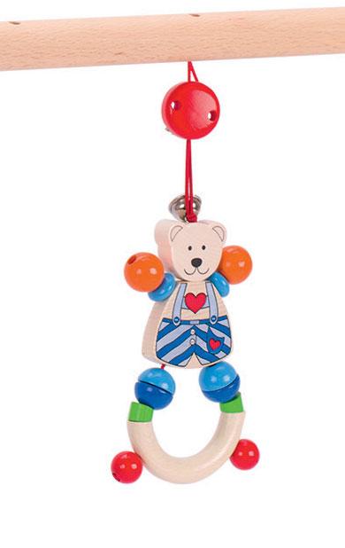 Babygym och lära-gå-stöd Hjärtebjörn GOKI