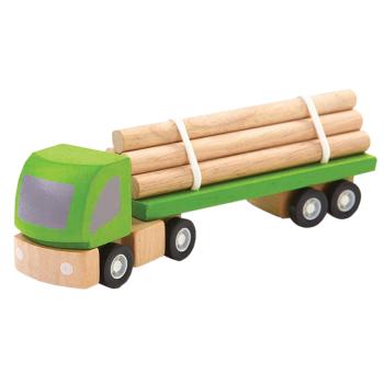 Timmerbil av gummiträ PlanToys