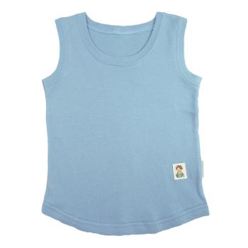 Tim&Teja linne 100% ekologisk bomull ekologiskt färgad ljusblå