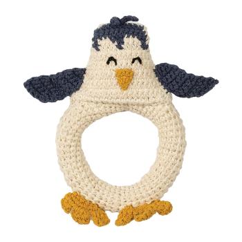 Virkad babyskallra pingvin Hoppa