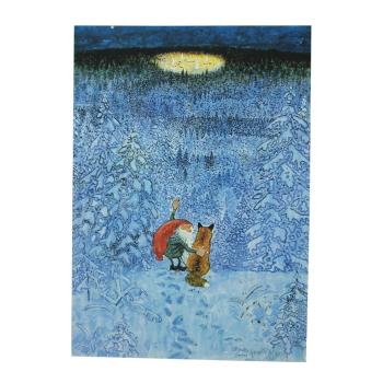 Julkort/vykort Harald Wiberg Eviga julaftons by 15x10 cm