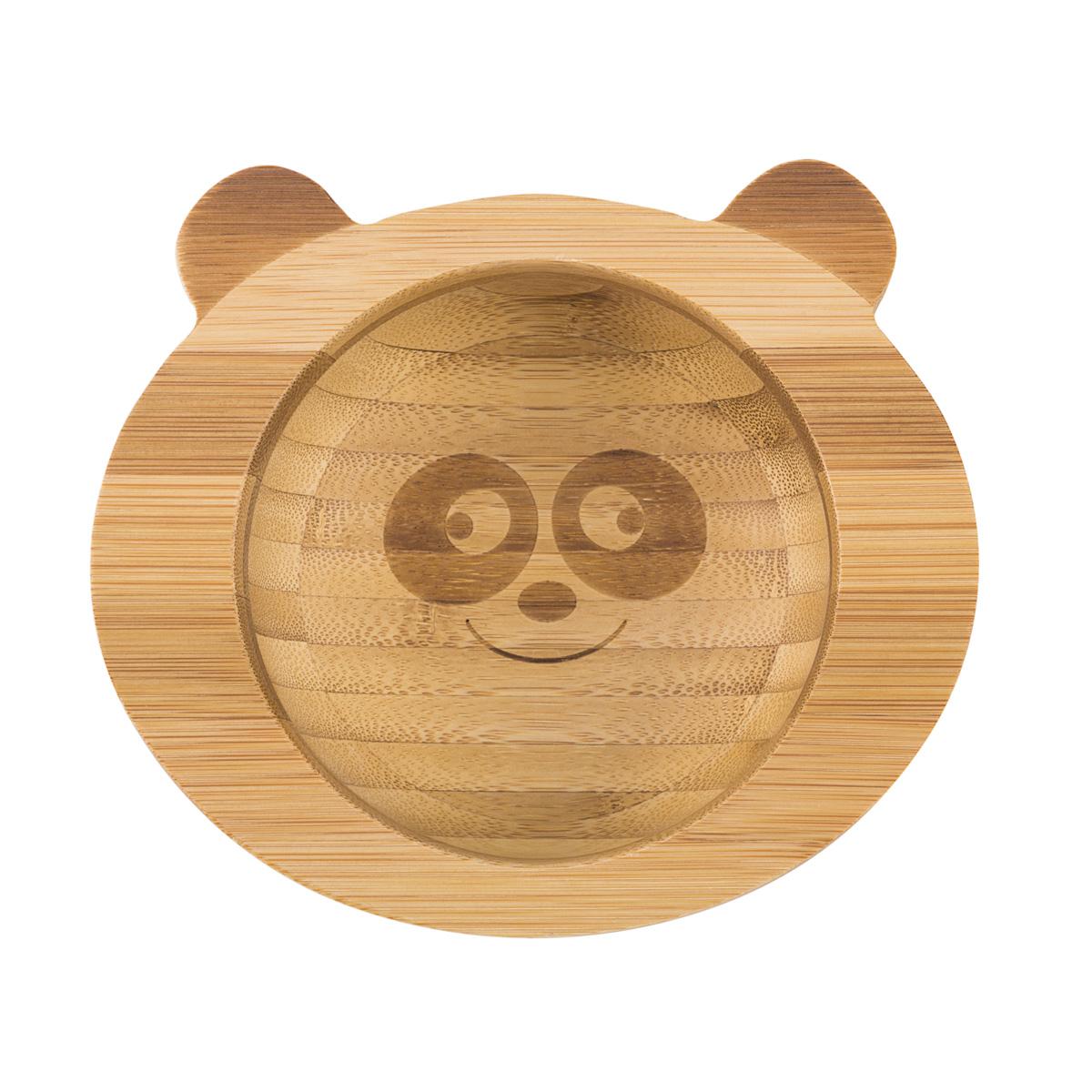 Skål panda av bambu Virgel