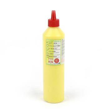 Ekologisk fingerfärg 500 ml gul ÖkoNorm