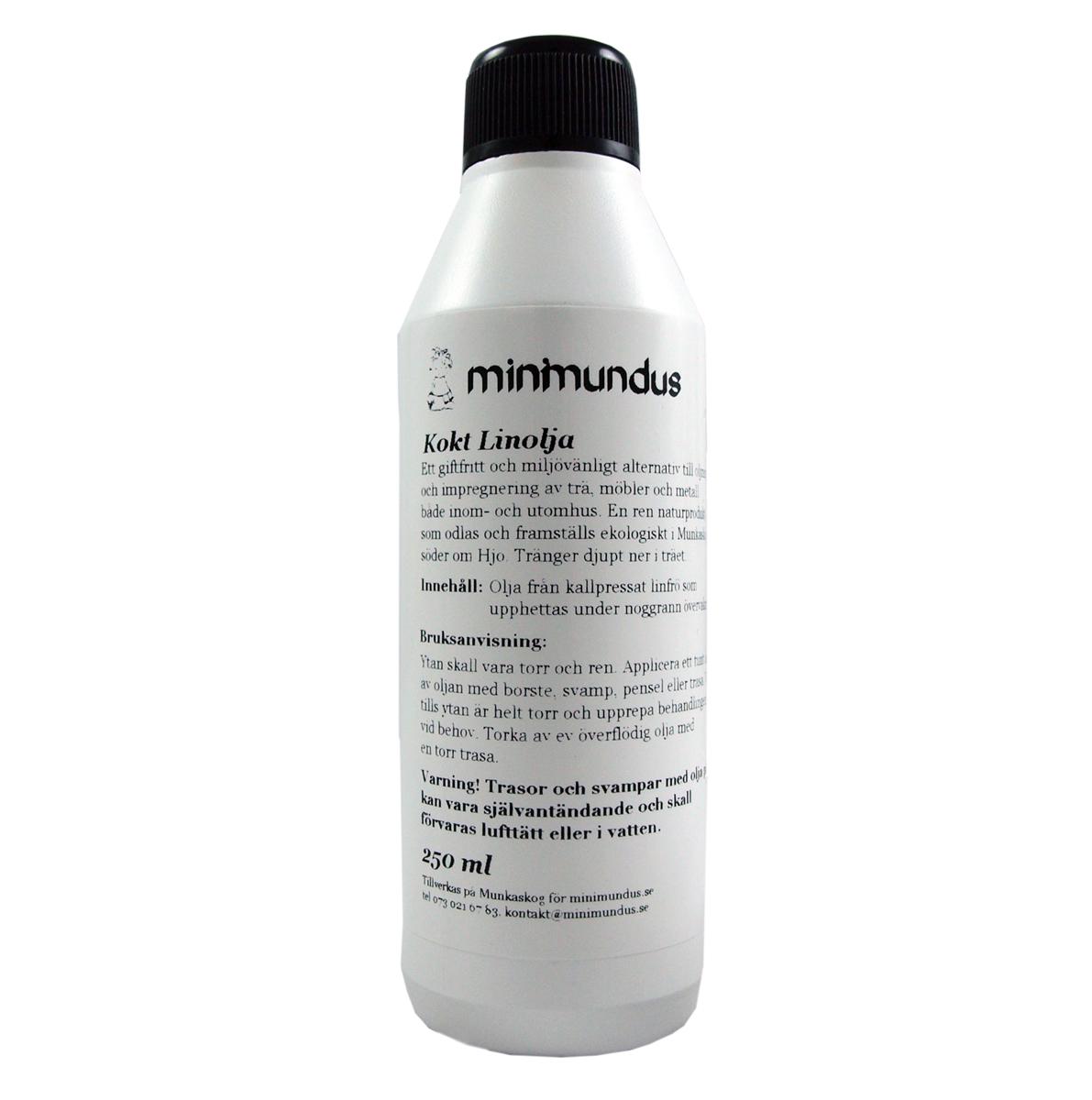 Kokt kallpressad linolja 250 ml