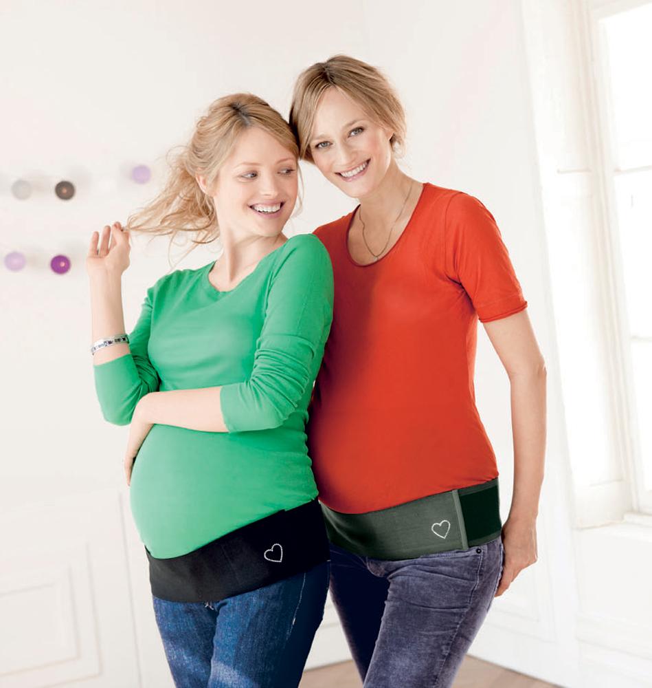 BabySherpa gravid stödbälte justerbart svart